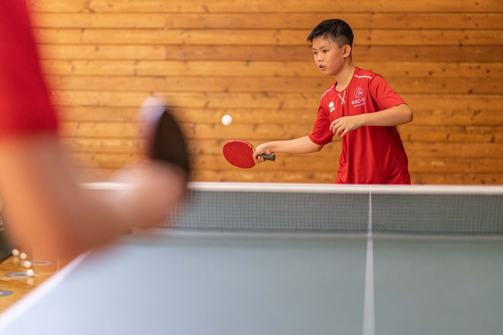 KAC, Tischtennis, Klagenfurt, Kärnten, TT, KTTV, Training, Tischtennis spielen